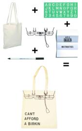 DIY-pakket canvas tas - IMAKIN