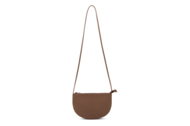 Farou half moon bag chestnut - Monk & Anna