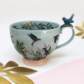 Secret Garden Bird Cup - House of Disaster
