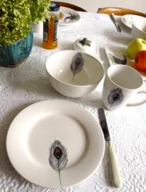 Ontbijt/Lunch bord Pauwenveer - Catchii