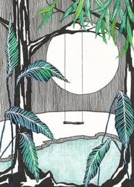 Kaart Moonlight Swing - IsaBella