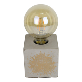 Bloklamp beton golden sparkles-Housevitamin
