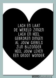 Poster WONDER - WOORDkunsten