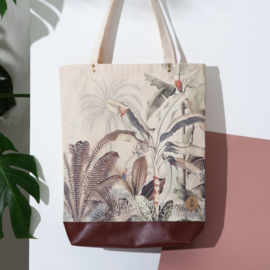 Tote bag Dreamy Jungle - Annet Weelink Design