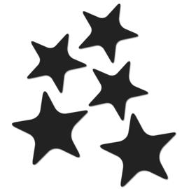 Sterren magneten ZWART - Groovy Magnets