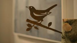 Metalen Merel - Birdwise