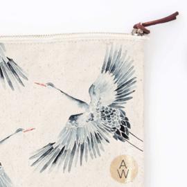 Clutch Cranes - Annet Weelink Design