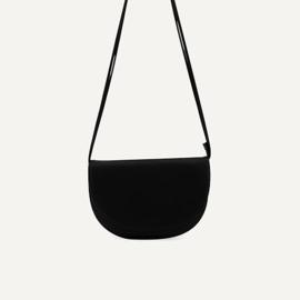 Farou half moon bag black - Monk & Anna