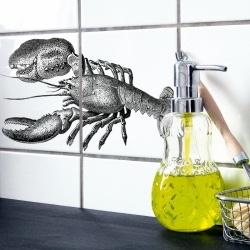Tegelsticker Lobster - Boubouki