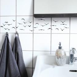 Tegelsticker Flock - Boubouki