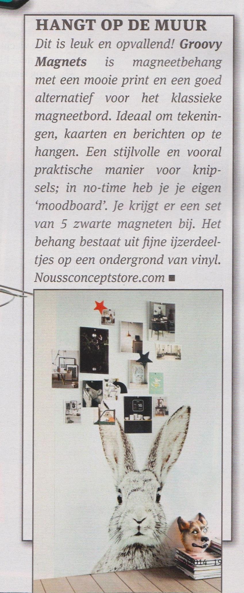 NOUSS concept store in tijdschrift Ditjes en Datjes