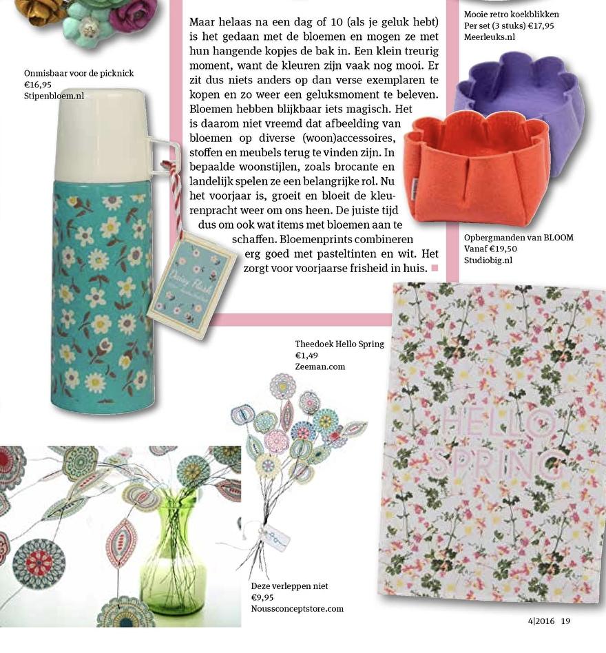 Ditjes&Datjes BLOM flower Jurianne Matter
