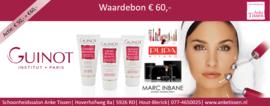 "Waardebon € 60,- ""steun uw Salon"""