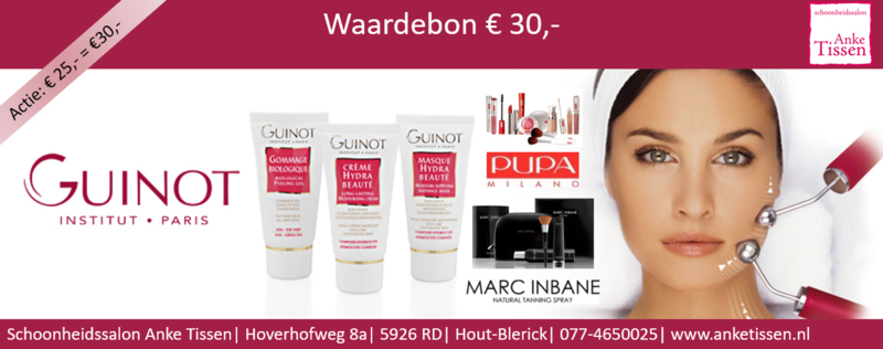 "Waardebon € 30,- ""steun uw Salon"""