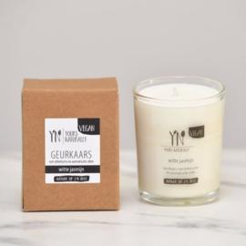 Yours Naturally geurkaars - Witte Jasmijn