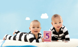 Milestone® - The original baby cards - Twins First Year