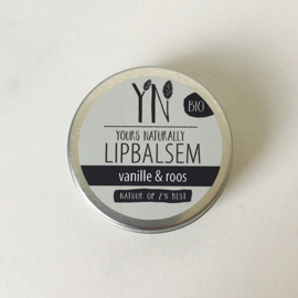 Yours Naturally - Lipbalsem - Vanille & Roos