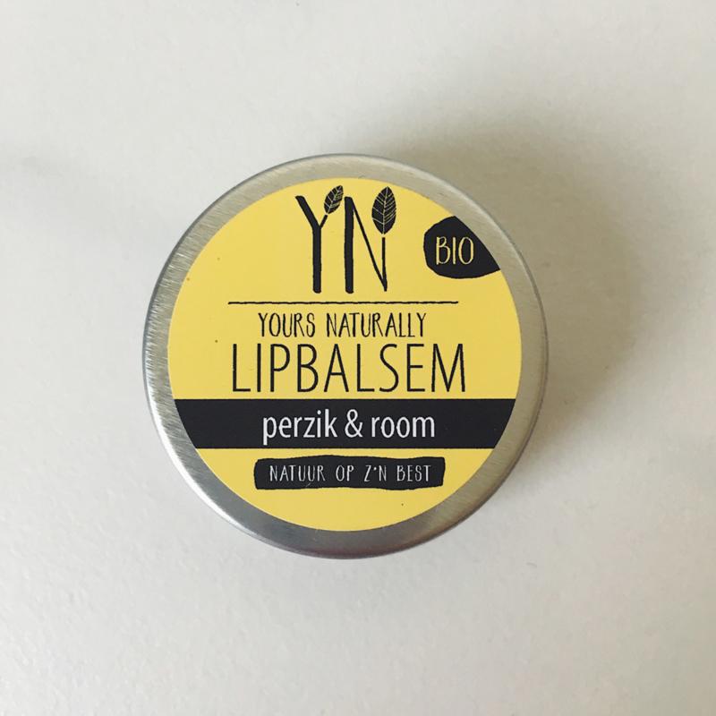 Yours Naturally - Lipbalsem - Perzik & Room
