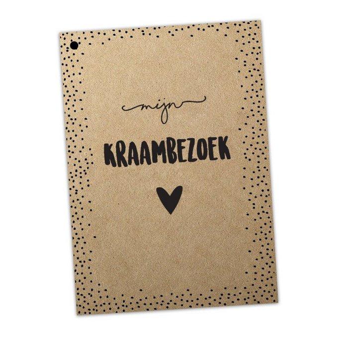 Kraambezoekboek - Kraft - 25 pagina's
