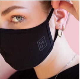 NEQI mondmasker S/M zwart