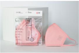 NEQI mondmasker S/M rosé