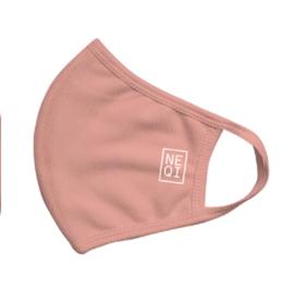 NEQI mondmasker S/M rosé POPULAIR