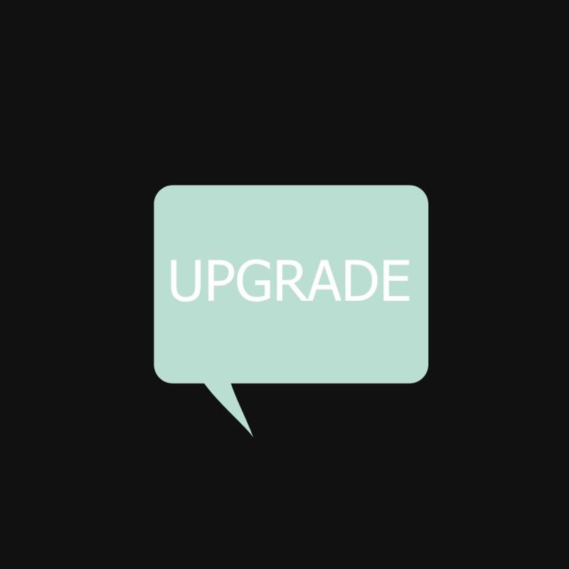 Upgrade cadeaubon
