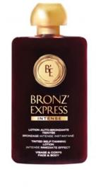 Bronz'Express lotion auto-bronzante teintee intense 100ml