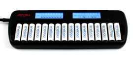 Japcell BC - 1600 batterijlader AA en AAA