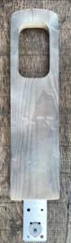 Plank met schroef voor Struikrover®