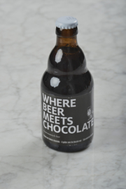 Where beer meets chocolate 33cl