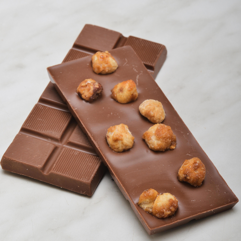 Chocoladereep: hazelnoot