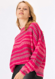 Sesame Knit Poppy Pink
