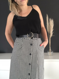 Mery Skirt Black 'n White