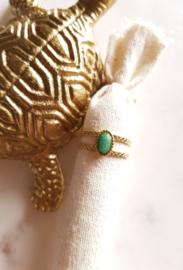 Nefertiti Ring Aventurine