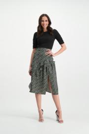 Evelyne Skirt Black/Green