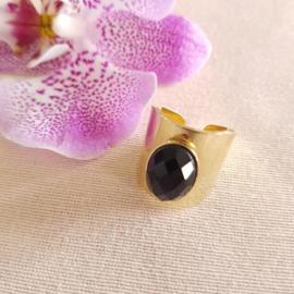 Caroline Ring Onyx