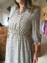 Juliette Dress B/W