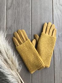 Edith Gloves Mustard
