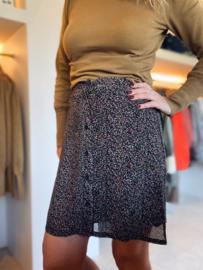 Leoni Skirt Black Flower