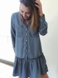 Paula Dress Blue