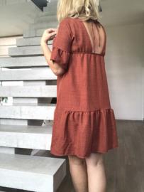 Lindy Dress Brick