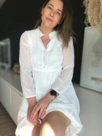 Hanna Dress White