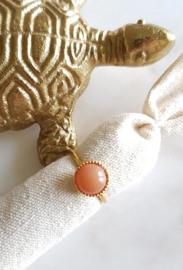 Gigi Ring Orange Moonstone