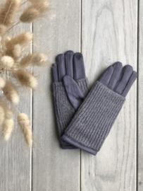 Edith Gloves Dark Grey