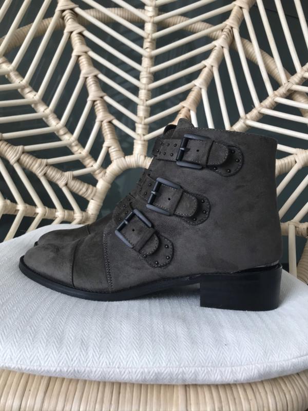 Bonnie Boots Brown/Green