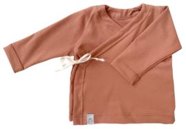 Overslag shirtje   Peach