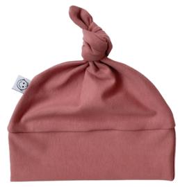 Knoopmutsje   Clay pink