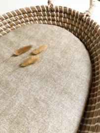 Waterafstotend matrasje  voor het verschoonmandje van KWANTUM | STONE