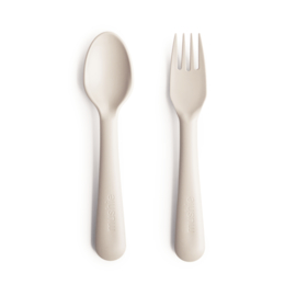 MUSHIE | Fork & spoon, IVORY